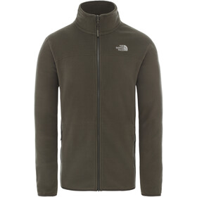 The North Face 100 Glacier Full Zip Jacket Herre new taupe green